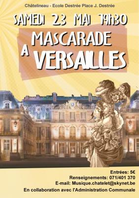 Mascarade à Versailles